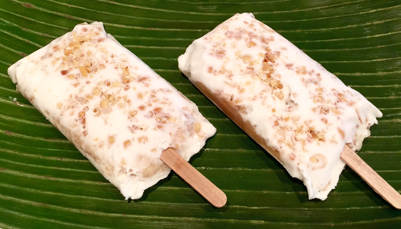 Kem chuoi - Banana Coconut Cream Pops