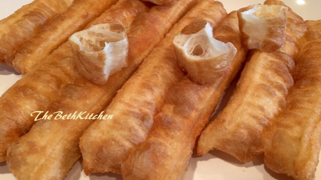 Dầu chéo quẩy - Fried hollow Chinese bread sticks - Youtiao