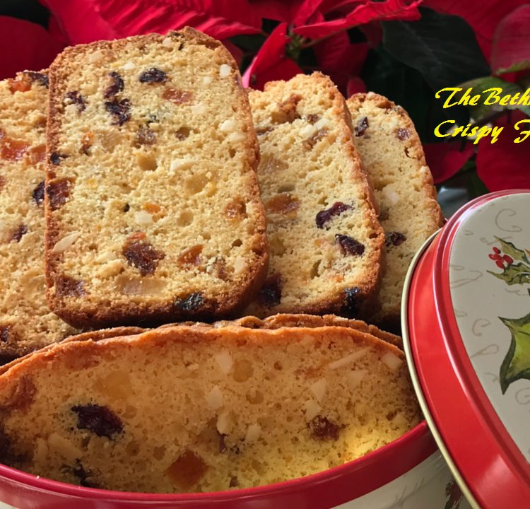 Crispy Delicious Fruit Biscuits/ Biscotti