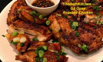 Crispy Delicious Roasted Chicken by Air Fryer, Oven.